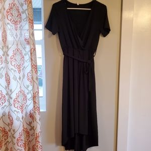 Hi/Lo Maternity Dress